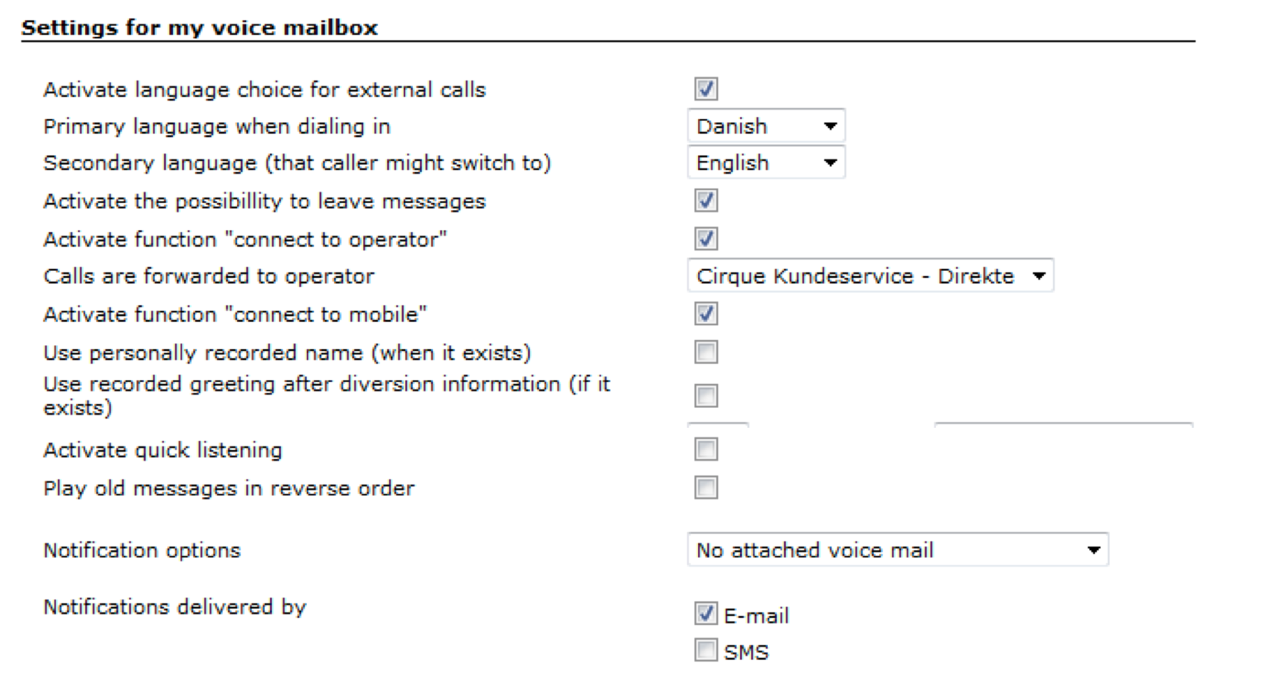 How Onevoicemail Works Tdc Cloud Support